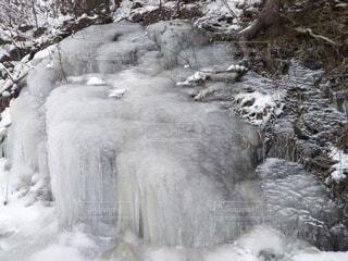 自然,風景,冬,雪,屋外,滝,岩,冷たい,氷柱