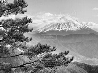 自然,風景,空,雪,屋外,雲,山,樹木,黒と白