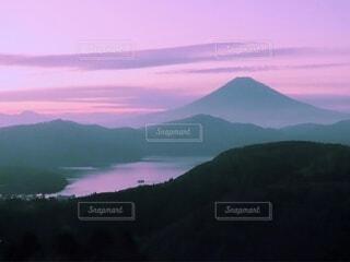 自然,風景,空,屋外,湖,雲,水面,霧,山,日の出,高原,くもり