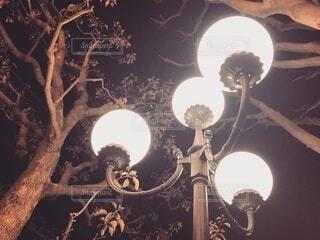夜,暗い,ランプ,照明,明るい,照明器具,街路灯,天井器具