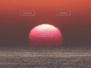 風景,空,太陽,夕暮れ,霧,日の出