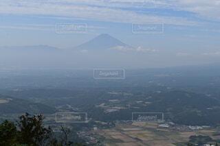 風景,空,富士山,屋外,雲,青,霧,山,樹木,大地,田んぼ,高原,静岡,眺め,高い,気持ち良い,伊豆スカイライナー