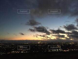 風景,空,朝日,雲,夕暮れ,正月,お正月,日の出,新年,初日の出