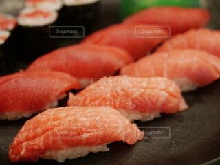 寿司のクローズアップの写真・画像素材[4032803]