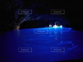 自然,風景,水面,旅行,洞窟,イタリア,青の洞窟,カプリ島