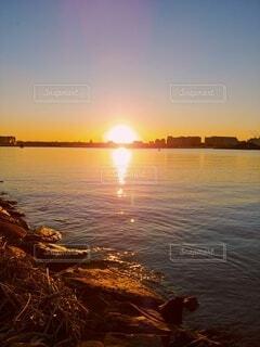 朝日,正月,日の出,初日の出,葛西臨海公園
