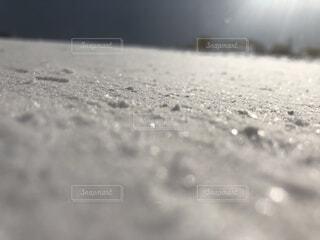 自然,雪,日差し