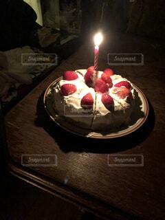 バースデーケーキの写真・画像素材[4083695]