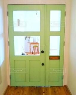 建物,屋内,木,緑,かわいい,お店,床,壁,ドア,塗装