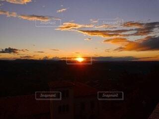 風景,空,太陽,朝日,雲,正月,お正月,日の出,新年,初日の出
