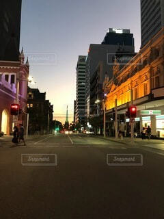 通り,ダウンタウン,トラフィック ライト
