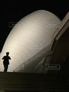 影,シルエット,オーストラリア,オペラハウス
