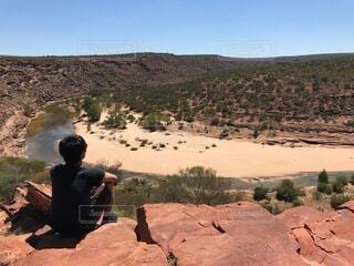 自然,風景,人,旅,オーストラリア,ハイキング