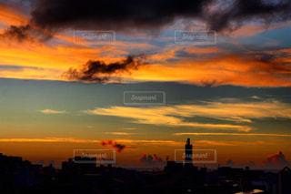 夕焼け空の写真・画像素材[968591]