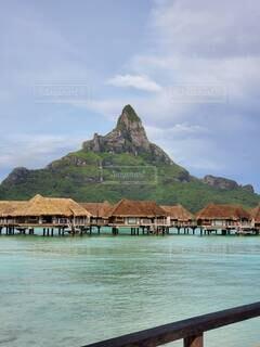 自然,風景,ビーチ,島,アート,海岸,山,絵画,漫画