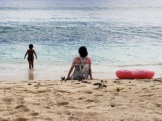 海,ビーチ,砂浜,水面