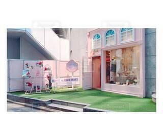 建物,ショップ,ピンク,かわいい,お店