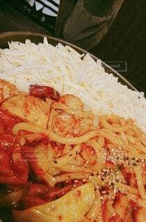 食べ物,屋内,料理,韓国料理,チーズタッカルビ