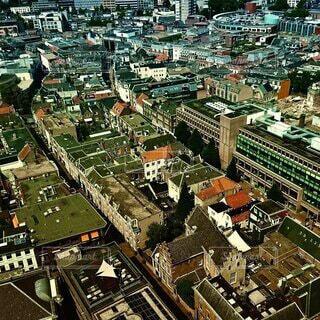 建物,都市,家,都会,オランダ,空中,アルンヘム