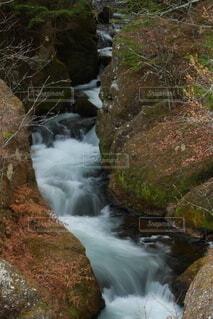自然,風景,秋,屋外,川,水面,滝