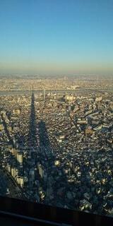 風景,空,屋外,東京,スカイツリー,都市,景色,影,タワー,都会,高層ビル,ビュー