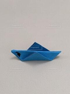 青,子供,折り紙,バッタ,静止,三角 形