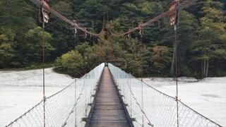 橋,旅行,ロープの橋