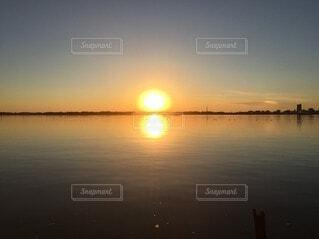 湖,太陽,水面