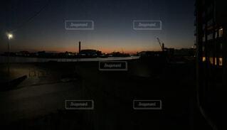 風景,夕日,屋外,夕方