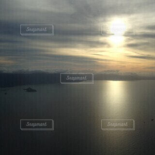 自然,海,空,朝日,飛行機,水面,オーストラリア,日の出,上空