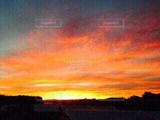 自然,風景,空,太陽,朝日,赤,雲,オーストラリア,日の出,農場,赤い空,アデレード,朝の赤い空