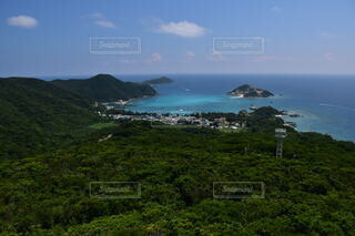 慶良間諸島渡嘉敷島の景色の写真・画像素材[4045386]