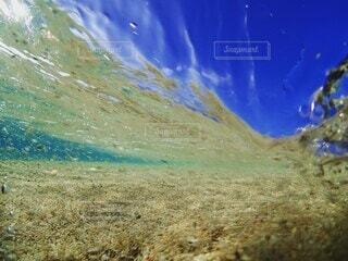 自然,海,屋外,波,水面,水中,海底,スキューバ ダイビング