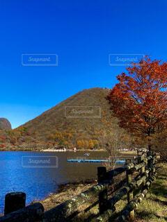 自然,空,秋,湖,山,樹木,眺め,榛名山,榛名湖