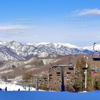 自然,風景,空,冬,雪,山,スキー,運動,スノボー,斜面,ウィンタースポーツ