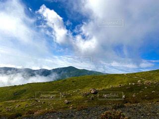 自然,風景,空,雲,山,景色,丘,日中