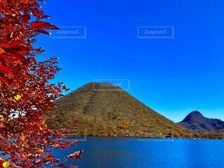 自然,風景,空,屋外,湖,水面,山,景色