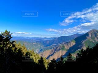 自然,風景,空,屋外,雲,山,樹木,山腹