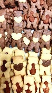 抱っこクマクッキーの写真・画像素材[4141609]