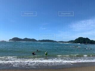 自然,海,ビーチ,砂浜,波,水面
