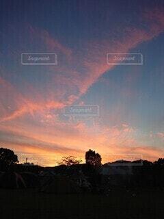 自然,風景,空,雲,夕暮れ