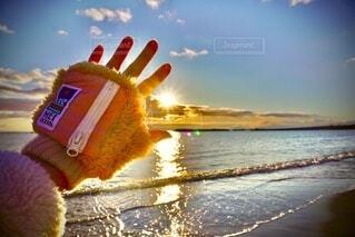 あたたかい夕陽𓇼𓆡𓆉 ⋆の写真・画像素材[4048517]