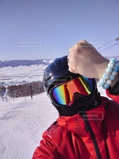 冬,雪,人,スキー,運動,ウィンタースポーツ
