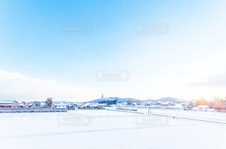 雪景色の写真・画像素材[4053581]