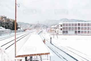 雪景色の写真・画像素材[4053583]