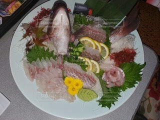 食べ物,花,魚,皿,料理,タイ,お祝い