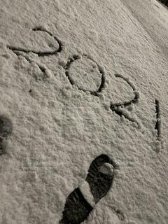 冬,雪,景色,足跡,壁紙,おしゃれ,2021