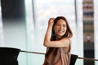笑顔の女性の写真・画像素材[4116004]
