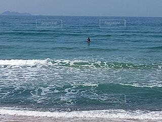 海,空,スポーツ,屋外,サーフィン,サーフボード,ビーチ,砂浜,波,水面,海岸,マリンスポーツ,水上,日中