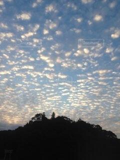 自然,屋外,雲